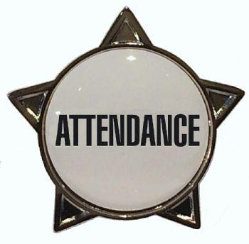 ATTENDANCE star badge